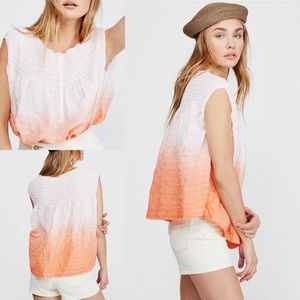 FREE PEOPLE Little Bit of Something Ombre Crop Top